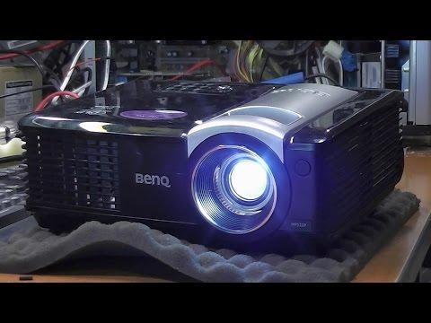 Точки на изображении / Дефекты изображения. Проектор BenQ MP525P