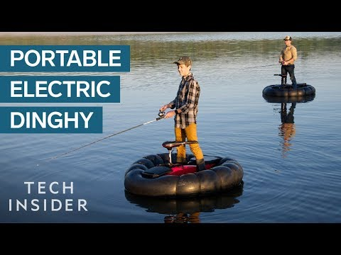 Electric Rubber Dinghy Is A Fisherman's Dream