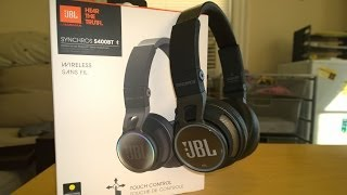 JBL Synchros SB400BT Bluetooth Headphone Review