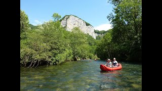 Krasové řeky Burgunska-Franche-Comté, Francie aŠvýcarsko - Video