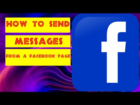 How to send Message From Facebook Page