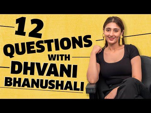 12 Questions With Dhvani Bhanushali   Vaaste   MissMalini