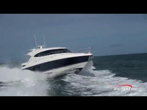 Riviera 6000 Sport Yacht Test 2016- By BoatTest.com