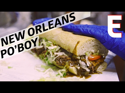 New Orleans Po' Boy Sandwiches.
