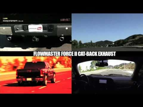 StreetLegalTV.com - Flowmaster's Force II GMC/Chevy Pick-Up Exhaust System