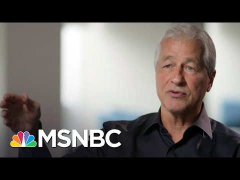 JPMorgan Chase CEO Jamie Dimon Discusses Economic Impact Of Virus With Stephanie Ruhle | MSNBC