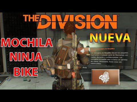 THE DIVISION - NUEVA SUPER MOCHILA NINJA BIKE - EL COMODIN DE LOS SETS