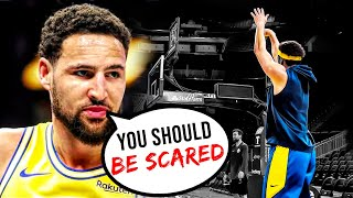 Klay Thompson is HEALTHY! Says The Warriors Are 2022 NBA CHAMPS!