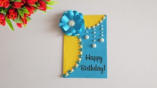 Handmade Birthday Card Idea / DIY Greeting Cards For Birthday / NinTe DIY