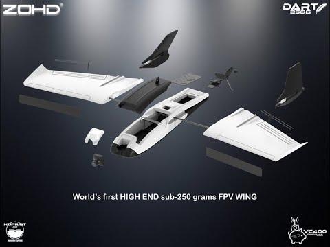 ZOHD Dart250G 570mm Wingspan Sub 250 da Banggood