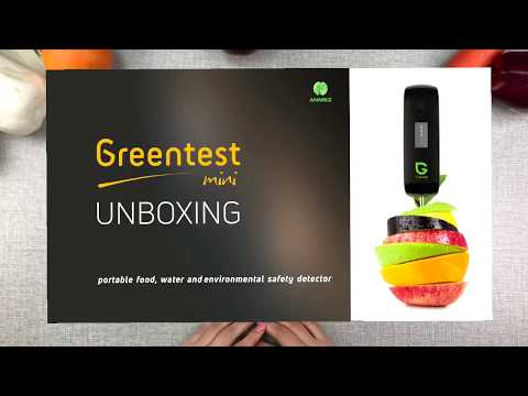 Распаковка экотестера Greentest Mini ECO