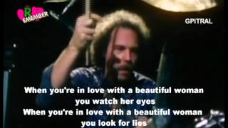 Dr Hook When You're In Love With A Beautiful Woman