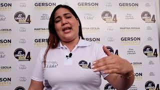Emily Salazar, Candidata Asambleísta del Ecuador 2021.