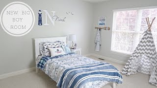 A BIG BOY ROOM/DECORATE WITH ME