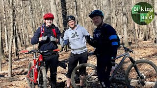 Biking Bad with Brett and Chris @Cabin John Regional Park.
