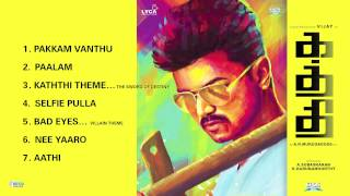 Kaththi - Jukebox (Full Songs)