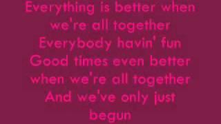 Bratz Genie Magic - When We're All Together Lyrics