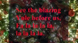 deck the halls - Christmas songs carol with lyrics