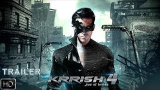 KRRISH 4 Official Trailer || Hrithik Roshan || Rakesh Roshan