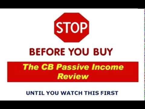 The CB Passive Income Review  Watch This First | The CB Passive Income
