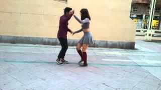 Tus Besos coreografia Azahara y Kevin