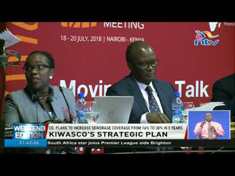 KIWASCO plans to increase sewerage coverage from 16% to 30% in 5 years