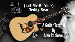 (Let Me Be Your) Teddy Bear - Elvis - Acoustic Guitar Lesson (easy-ish)