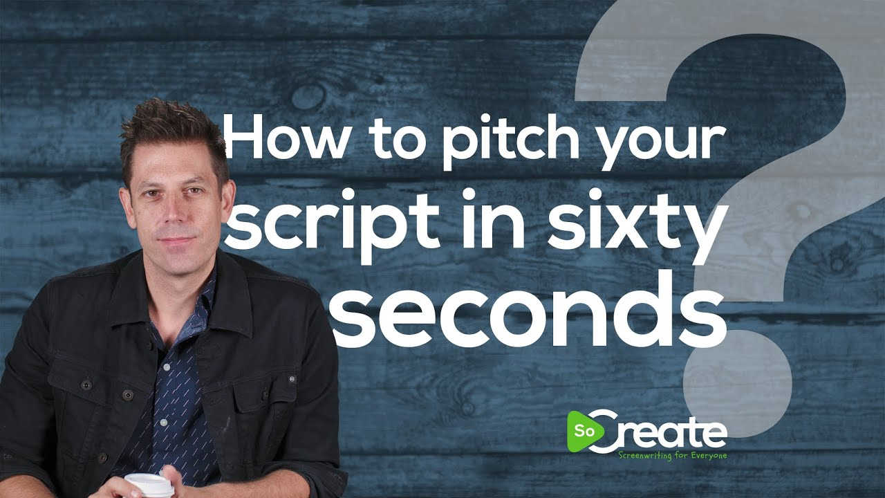 How to Pitch Your Screenplay in 60 Seconds, with Disney Writer Ricky Roxburgh