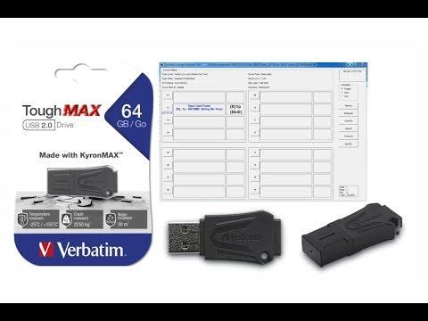 Ремонт восстановление USB Flash Verbatim ToughMAX на контроллере SM3271