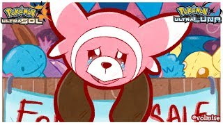Stufful  - (Pokémon) - ¡El pobre Stufful tiene el entrenador más tontaco del mundo! - Pokémon Ultrasol y Ultraluna