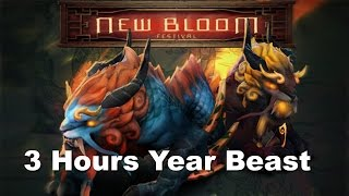 3 Hours Epic Year Beast match 2600cs+ Megacreeps Dota 2