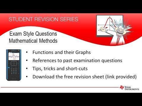 Exam style questions with reference to past exams   Mathematical ...