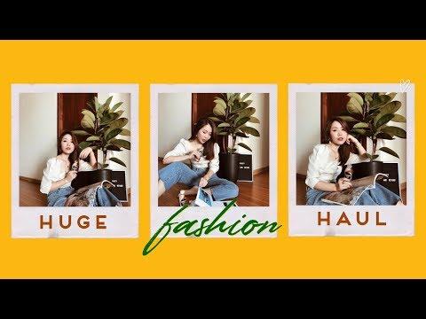 Gu chọn áo quần của thím Phương ✌?| HUGE FASHUN TRY-ON HAUL | Letsplaymakeup