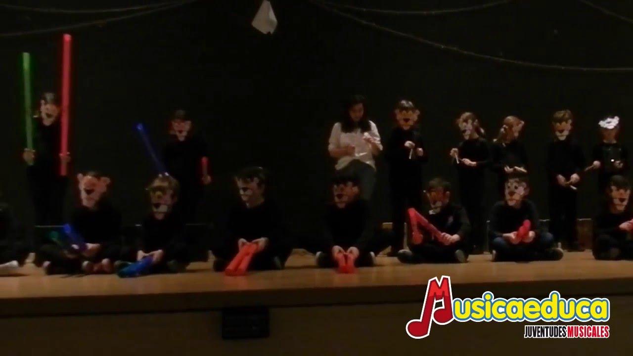 La Pantera Rosa - Alumnos de lenguaje musical de Musicaeduca Juventudes Musicales de Alcalá