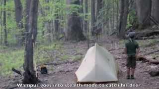Wampus Cat Catching a Deer
