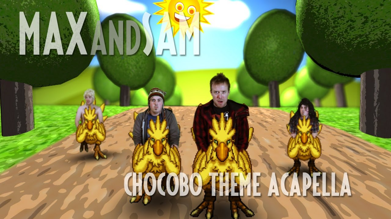 Final Fantasy's Chocobo Theme, In Glorious Acapella