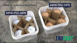 Trufast® Induction Weld Plates