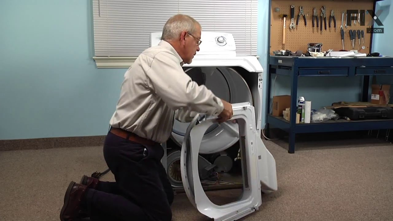 Replacing your Maytag Dryer Dryer Drum Felt Seal