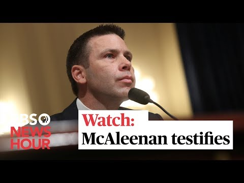 WATCH LIVE: Acting Homeland Security head Kevin McAleenan goes before Senate committee