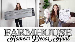 Farmhouse Home Decor Haul | RAE DUNN & MAGNOLIA HOME