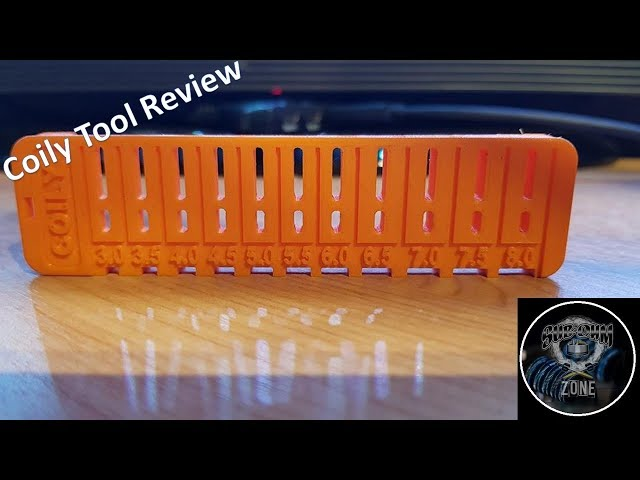 COILY TOOL REVIEW - COIL LEG LENGTHS CUT TO THE RIGHT LENGTH!