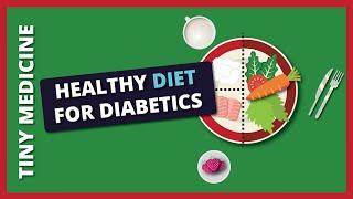 Diabetic Plate  : A Healthy Diet Plan For Diabetic Patients (Food Portion Plate)