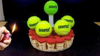 EXPERIMENT Match Vs Tennis balls