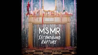 MS MR - Hurricane (CHVRCHES Remix) (HQ)
