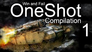 OneShot Win and Fail compilation #1 - World of Tanks