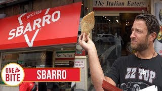 Barstool Pizza Review - Sbarro
