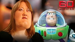Woman looks like Buzz Lightyear and is proud of it | 60 Minutes Australia