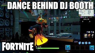 """Fortnite """"Dance behind DJ Booth at Dance Club with YOND3R Outfit"""""""