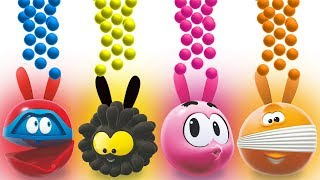 Learn Colors with BUNNY MOLD BLENDER & SQUISHY | Cartoon for Children by Cartoon Candy