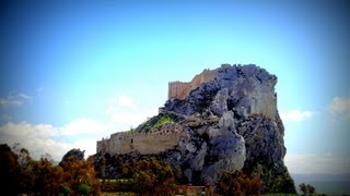 preview picture of video 'Mussomeli's Castle, Sicily, Italy'
